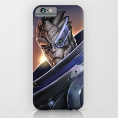 Garrus Vakarian Portrait - Mass Effect iPhone 6 Slim Case