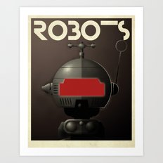 Robots - Tonto Art Print