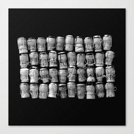 Something Nostalgic #4 Black and White #decor #society6 #buyart Canvas Print