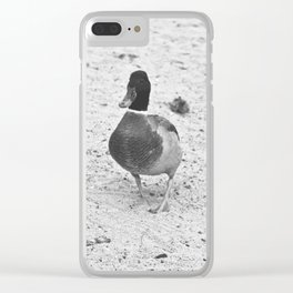 Quackers Clear iPhone Case