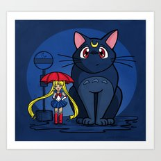 My Neighbor Luna Art Print