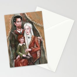 Victorian Era Family Stationery Cards