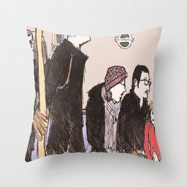 tube life Throw Pillow