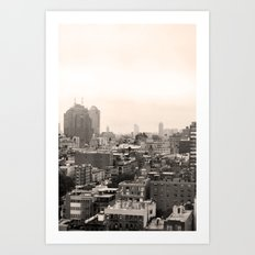 Lower East Side Skyline #1 Art Print