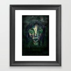 Zustand Framed Art Print