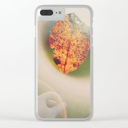 Signs of Decay. Clear iPhone Case