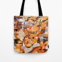 clueless Tote Bags featuring The Young and the Restless (Provenance Series) by Wayne Edson Bryan