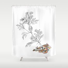Agrion Shower Curtain