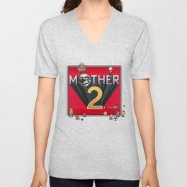 Alternative Mother 2 / Earthbound Title Screen Unisex V-Neck