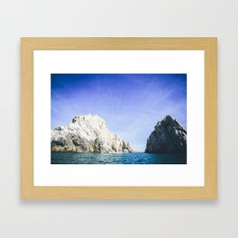 Lands End, Baja, Mexico Framed Art Print