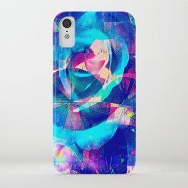 Blue Rose Carnival iPhone Case