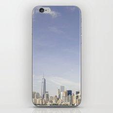 Lower Manhattan Skyline iPhone & iPod Skin