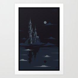 Castle of Desolation  Art Print