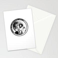 Space Monkeys Black & White Stationery Cards