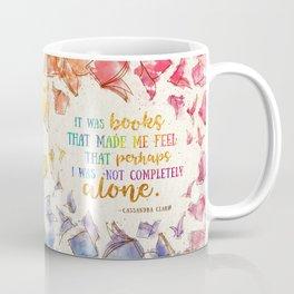 It was books Coffee Mug
