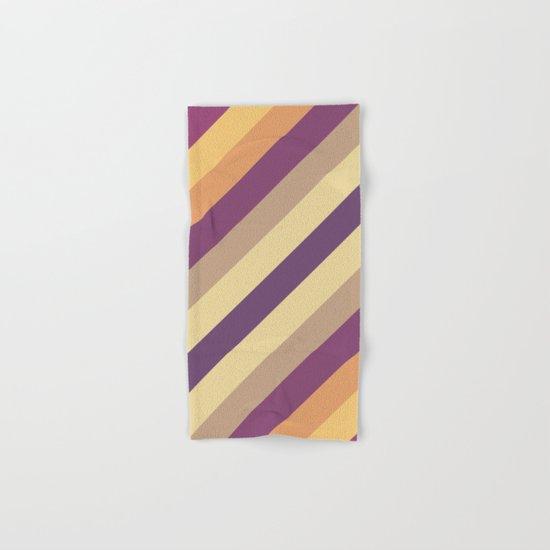 Colorful Lines Hand & Bath Towel