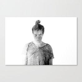 Inner Spirits. Time. Canvas Print