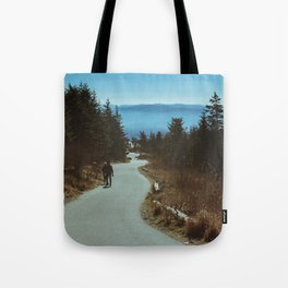 Path up the Great Smoky Mountains Tote Bag