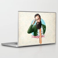 montana Laptop & iPad Skins featuring Mr. Montana by keith p. rein