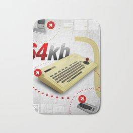 c64 Bath Mat
