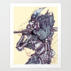 Knight Artorias Art Print