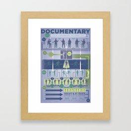 Improv Forms: The Documentary Framed Art Print