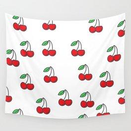 cherry picker II Wall Tapestry