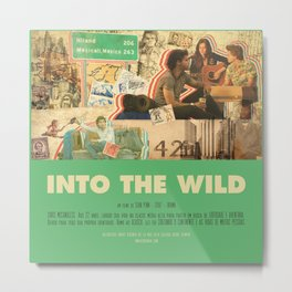 Into The Wild - Sean Penn Metal Print