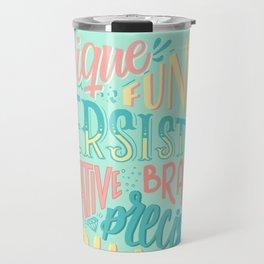 Kind words only Travel Mug