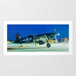 Warbirds Juxtaposed Art Print