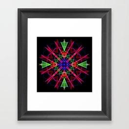 Mandala 3351 Framed Art Print