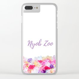 Nyob zoo spring bags Clear iPhone Case