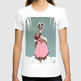 """The End of Romance"" Deco Design T-shirt"