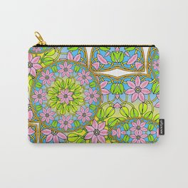 Color Me Spring Mandala Carry-All Pouch