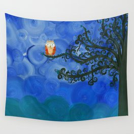 Owl Art by MiMi Stirn - Owl Singles #336 Wall Tapestry
