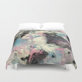 Fluid Tainted Candy Duvet Cover