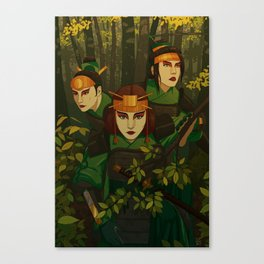 Kyoshi Warriors Canvas Print