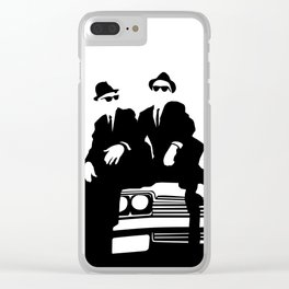 Blues Brothers Clear iPhone Case