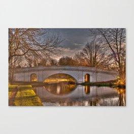 Grove Road Bridge, No 164 GUC Watford Canvas Print