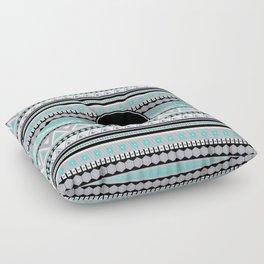 Monogram Tribal Pattern *D* Floor Pillow