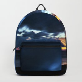 Nocturnal Cloud Spectacle on Danish Sky Backpack