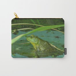 Frog Photography Print Carry-All Pouch