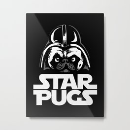 Welcome to the Dark Side Metal Print