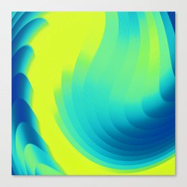 Ocean STR Canvas Print