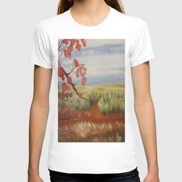 UpCountry Maui - Jacaranda tree branches and blooms T-shirt