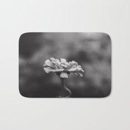 Minimal Flower Bath Mat