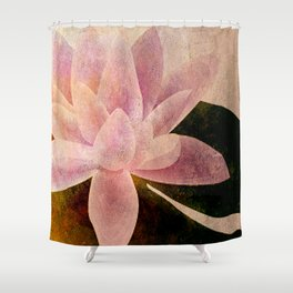Lotus of my Heart Shower Curtain