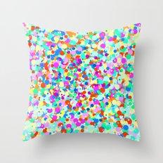 Ice Cream Drops Throw Pillow
