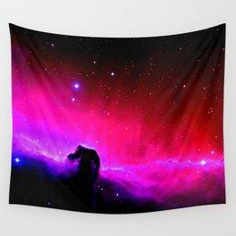 Galaxy : Horsehead nEbUlA Pink Red Purple Wall Tapestry