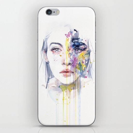 miss bow tie iPhone & iPod Skin
